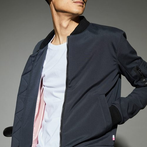 bbuc Carbon Bomber Jacket